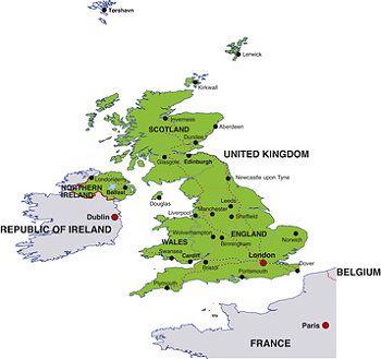 Sehenswürdigkeiten Großbritannien Karte.Urlaub In Großbritannien Sehenswürdigkeiten