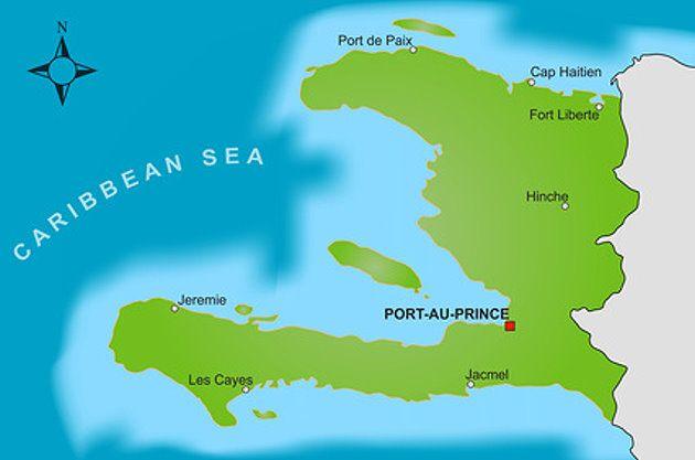 Haiti Karte.Karte Von Haiti