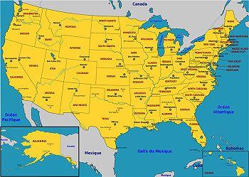 Usa Staaten Karte Mit Hauptstädten.Usa Staaten Karte Mit Hauptstädten Creactie