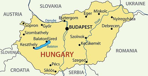 Ungarn Karte | Metro Map | Bus Routes | Metrobus Way Map | Train ...