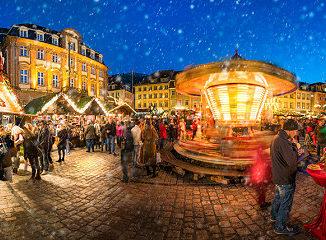 Ein traditioneller Weihnachtsmarkt