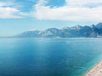 Strand in der Türkei