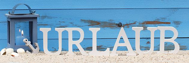 Das Wort Urlaub